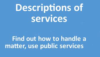 Descriptions of services