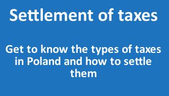 Settlement of taxes