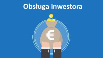 obsługa inwestora