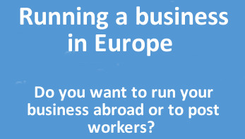 Running business a Europe