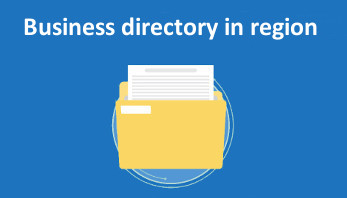 Business directory in region