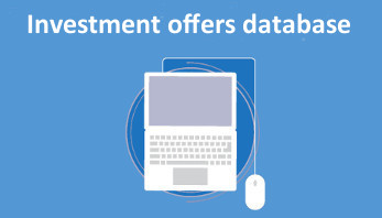 Investment offers database