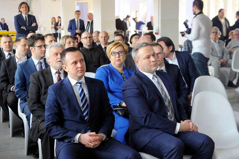 Konferencja na otwarciu Boruta Zachem Bydgoszcz