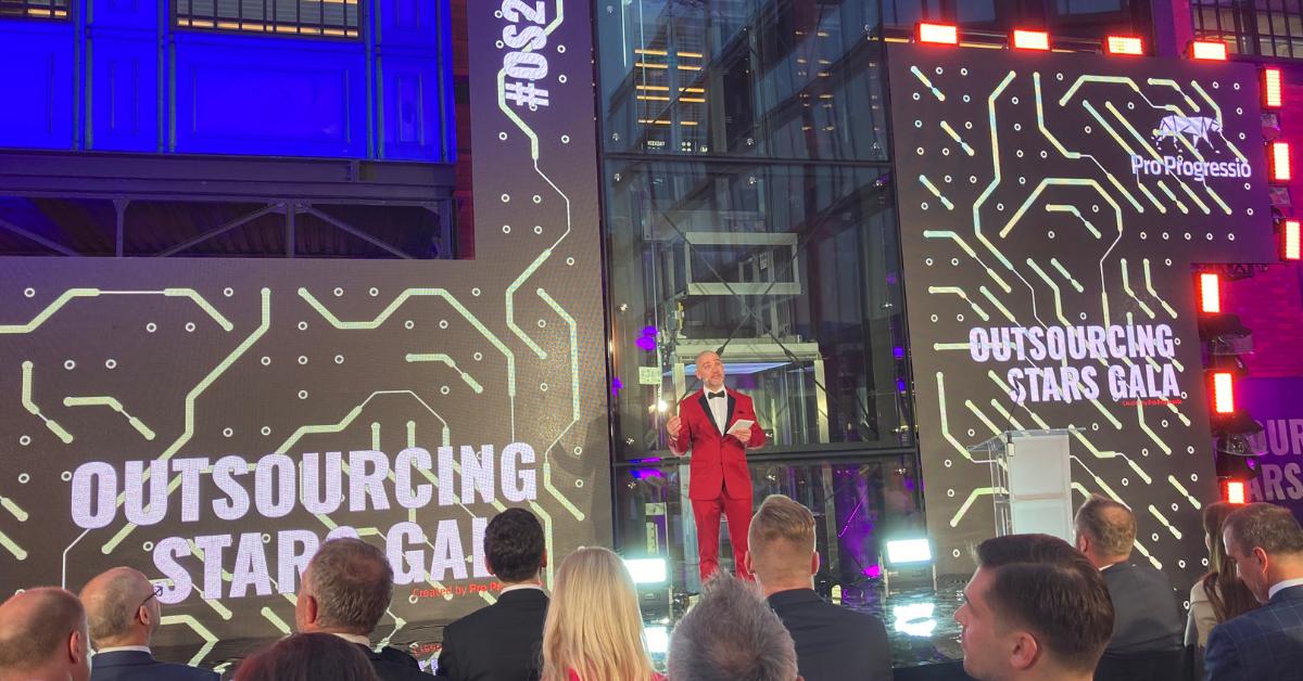 Gala Outsourcing Stars 2021 zorganizowana przez Pro Progressio
