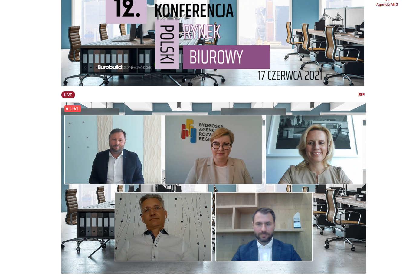 """uczestnicy panelu dyskusyjnego """"Rynek deweloperski"""""""