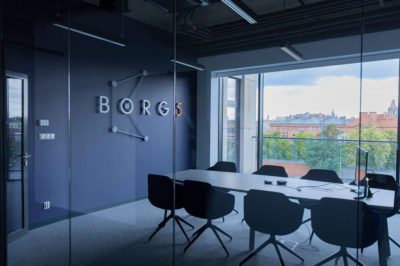 pomieszczenie biurowe firmy BORG5 w Immobile K3