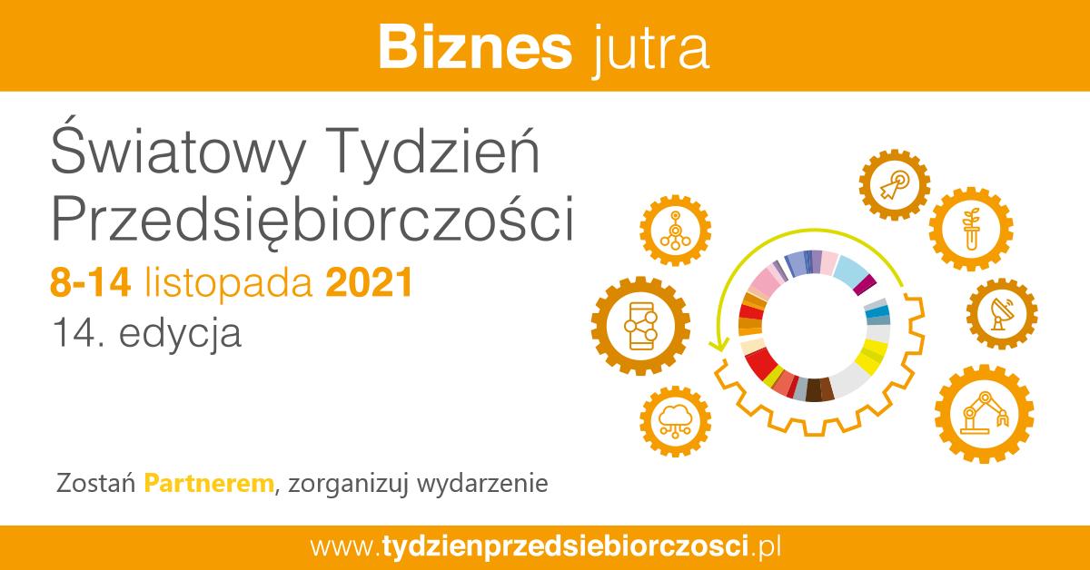 Światowy Tydzień Przedsiębiorczości 2021 baner